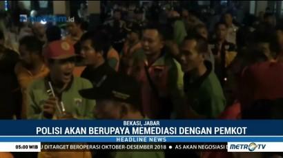 Sopir Truk Sampah DKI Protes Larangan Melintas di Bekasi