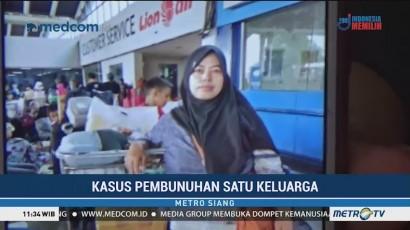 Jenazah Istri Korban Pembunuhan Satu Keluarga Ditemukan
