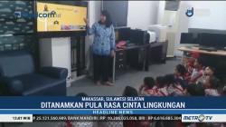 Murid TK di Makassar Antusias Ikuti Mitigasi Bencana