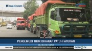 Truk Sampah Milik DKI Dituding Langgar Aturan