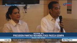 Presiden Pantau Rehabilitasi Pascagempa di Sulteng