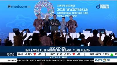 Cerita Sukses Pertemuan IMF-World Bank 2018