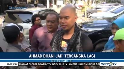 Ahmad Dhani Kembali Ditetapkan Tersangka