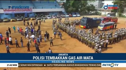 Polres dan Kodim Jakarta Barat Lakukan Simulasi Pengamanan Pemilu 2019