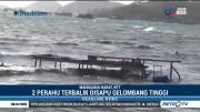 Angin Kencang dan Gelombang Tinggi Landa Perairan Labuan Bajo