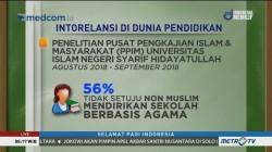 Menyikapi Intoleransi di Dunia Pendidikan (1)