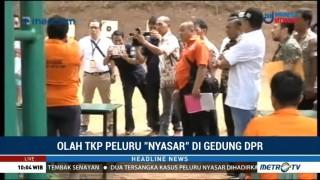 Polisi Olah TKP Peluru Nyasar di Lapangan Tembak Senayan