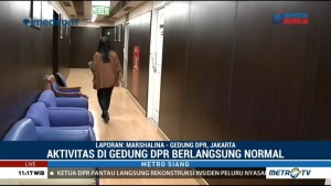 Aktivitas di Gedung DPR Berlangsung Normal