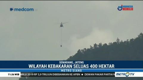 Kebakaran Gunung Merbabu Hanguskan 400 Hektare Lahan
