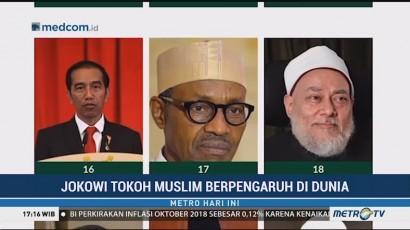 Masuk Daftar Muslim Paling Berpengaruh, Jokowi Tempati Urutan ke-16