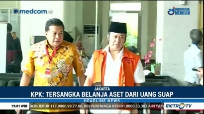 KPK Tetapkan Bupati Lampung Selatan Tersangka Kasus Pencucian Uang
