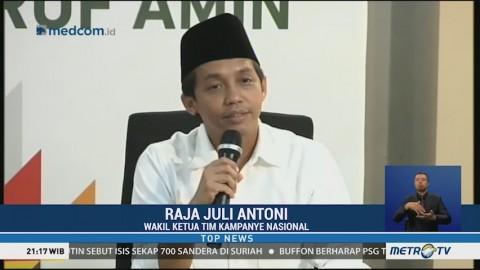 TKN Jokowi-Ma'ruf Sebut Koalisi Prabowo Rapuh Akibat Dominasi