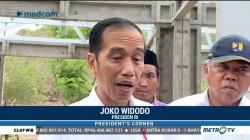 Jokowi Tinjau Langsung Pencairan Dana Korban Gempa Lombok