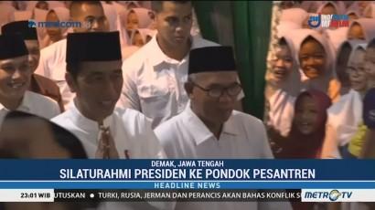 Jokowi Kunjungi Ponpes Girikusumo