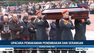 Upacara Pemakaman Penembakan dan Serangan Bom di Kampus Krimea