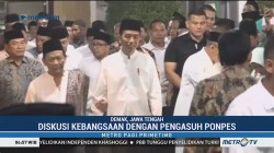 Jokowi Silaturahmi ke Ponpes Girikusumo