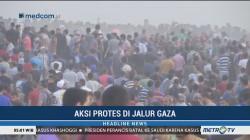 77 Warga Palestina Terluka Ditembaki Militer Israel