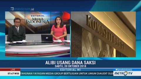 Bedah Editorial MI: Alibi Usang Dana Saksi