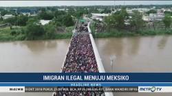 Ribuan Imigran Honduras Berusaha Masuk ke AS