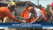 DPRD Bersama BPBD dan PDAM Kabupaten Karawang Distribusikan Air
