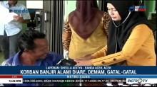 Korban Banjir di Aceh Barat Terserang Diare