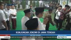 Jokowi Silaturahmi ke Ponpes Al-Itqon Semarang