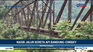 Nasib Jalur Kereta Api Bandung-Ciwidey