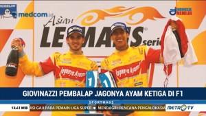 Giovinazzi, Pembalap Jagonya Ayam Ketiga di F1