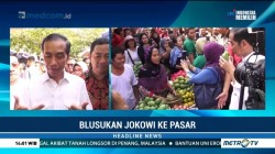 Kunjungi Pasar Karangayu, Jokowi Disambut Hangat Warga Semarang