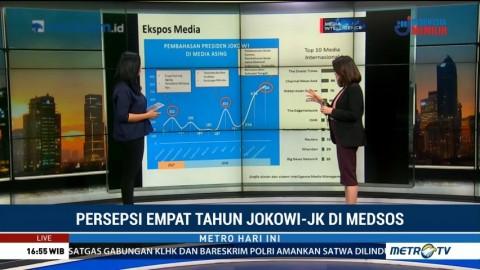 Persepsi Empat Tahun Pemerintahan Jokowi-JK di Media Sosial