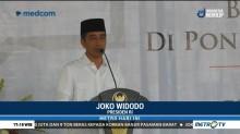 Kunjungi Ponpes Al-Itqon Semarang, Jokowi Ingatkan Jaga Ukhuwah