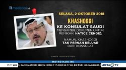 Kronologi Pembunuhan Jurnalis Arab Saudi