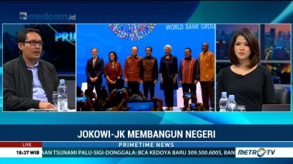 Ini Pencapaian Terbesar Empat Tahun Pemerintahan Jokowi-JK di Bidang Ekonomi