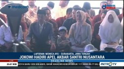 Jokowi Hadiri Apel Akbar Santri Nusantara