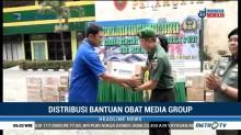 Distribusi Bantuan Obat-obatan Media Group