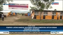 Pemprov Jateng Bangun 100 Huntara untuk Korban Gempa Palu