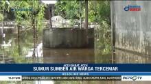 Korban Banjir Aceh Barat Butuh Bantuan Air Bersih
