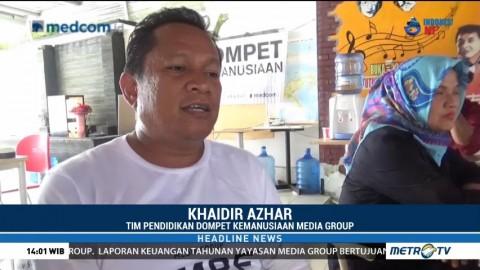 Media Group Mulai Rekrut Relawan Pengajar untuk Korban Gempa