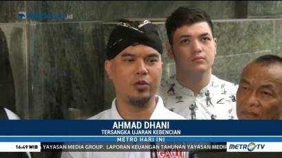 Jadi Tersangka, Ahmad Dhani Laporkan Balik Pelapor ke Mabes Polri