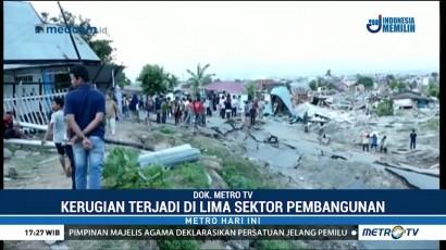 Kerugian Akibat Bencana di Sulteng Capai Rp13 T