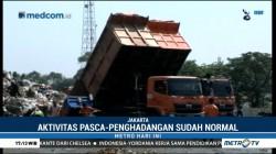 Pascapenghadangan, Aktivitas Truk Sampah DKI Kembali Normal
