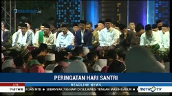 Jokowi Hadiri Peringatan Hari Santri di Bandung