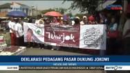 Pedagang Deklarasikan Dukungan untuk Jokowi-Ma'ruf