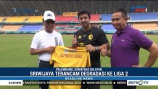 Alfredo Vera Resmi Latih Sriwijaya FC
