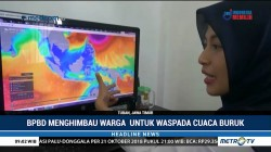 BPBD Tuban Imbau Warga Waspada Banjir Bandang