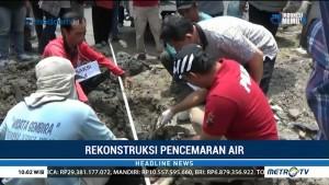 Polda Jateng Rekonstruksi Pencemaran Air PDAM