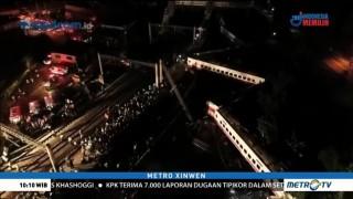 Kecelakaan Kereta di Taiwan, 18 Orang Tewas