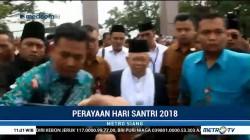 Ma'ruf Amin Hadiri Peringatan Hari Santri Nasional di Tasikmalaya