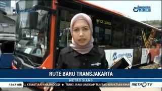 Menjajal Rute Baru Transjakarta