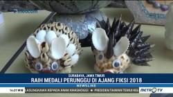 Kreasi Kulit Kerang Jadi Juara FIKSI 2018